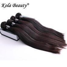 Kola Beauty 10Pcs Eurasian Virgin Hair Straight 10A Unprocessed Eurasian Straight Hair Weave Aliexpress UK Human Hair Free DHL