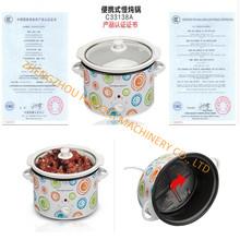 Slow Cooker Ceramic pot  casseroles 5 stock pot enamel soup cooker (China (Mainland))