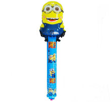 Yellow people against great cartoon great balloon party balloons in children's toys