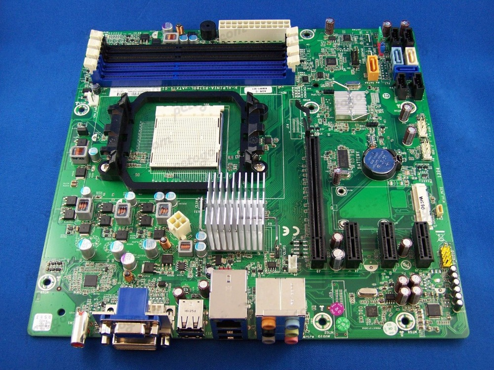 605561-001 desktop Motherboard AM3 DDR3 RS780L board 100% tested working(China (Mainland))