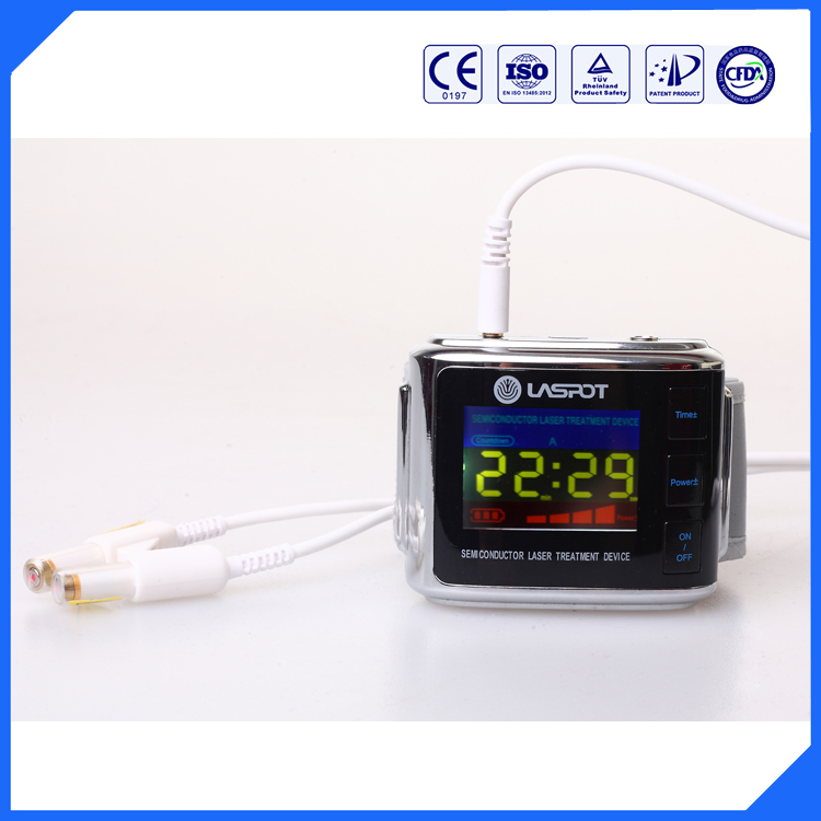 Medical equipment laser therapy watch low level laser diode laser device from LASPOT(China (Mainland))
