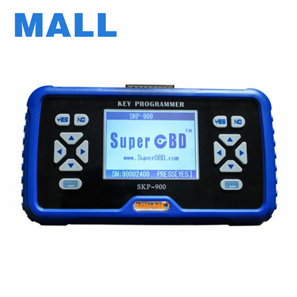 Hot Sale Newly Updated V4.2 Original SuperOBD SKP-900 Hand-Held OBD2 Auto Key Programmer Long-time Free Update skp900 skp 900(China (Mainland))