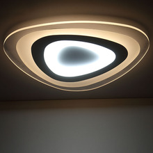 Remote control living room bedroom modern led ceiling lights luminarias para sala dimming led ceiling lamp deckenleuchten(China (Mainland))