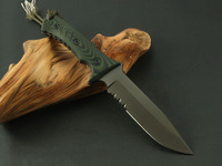 BGT D2 G10 HAND MADE Self Defence Straight Knife