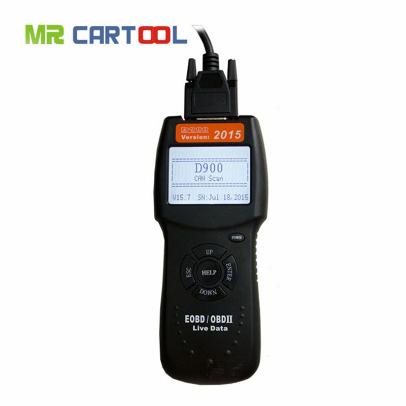 Hot Sale New version D900 scanner Universal OBD2 EOBD CAN Fault Code Reader Scanner Diagnostic Scan For Any Car(Hong Kong)