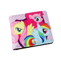 My Little Pony Anime the main color pink PU short wallet W Earth ponies Unicorn Pegasus