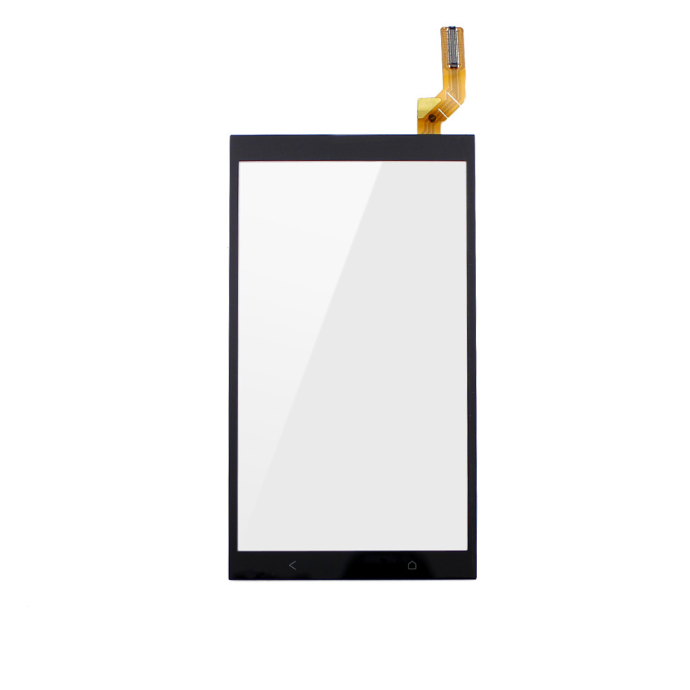 10pcs 700 Tested Original Black Front Touch Screen Digitizer Outer Glass Lens For HTC Desire 700 5