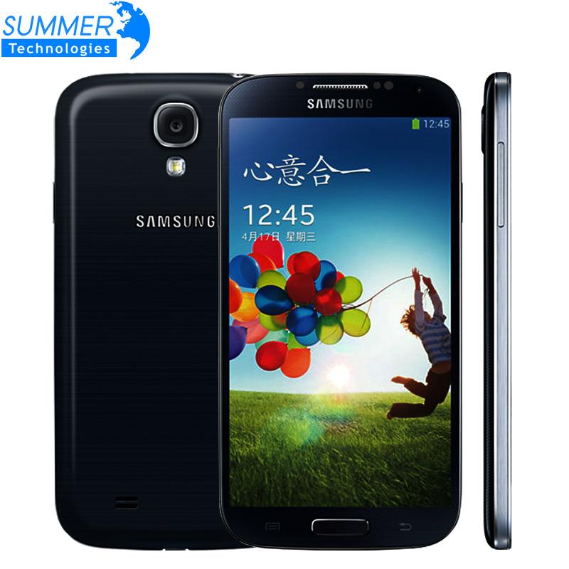 Original Unlocked Samsung Galaxy S4 i9500 i9505 Quad Cell Phones Mobile Phone WCDMA LTE 5.0 '' 2GB RAM 16GB ROM Refurbished(China (Mainland))