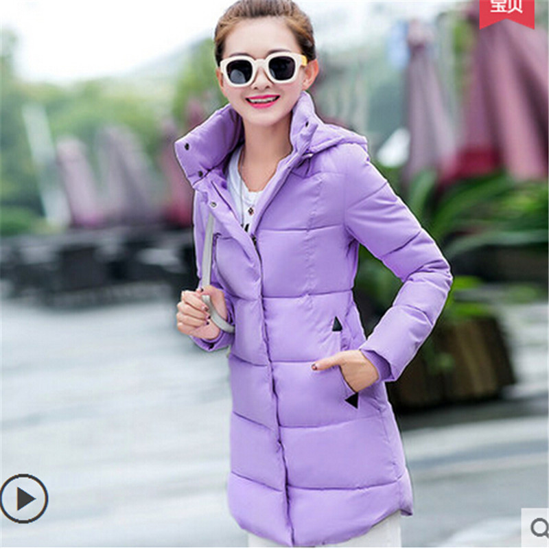 Fashion Winter jacket Women Warm coat Latest Hooded Slim Long High quality Promotion price Outdoor Eiderdown cotton Coat BN1266(China (Mainland))