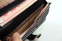 женщины патент кожаный кошелек, бумажник моды кожа, подарочная упаковка