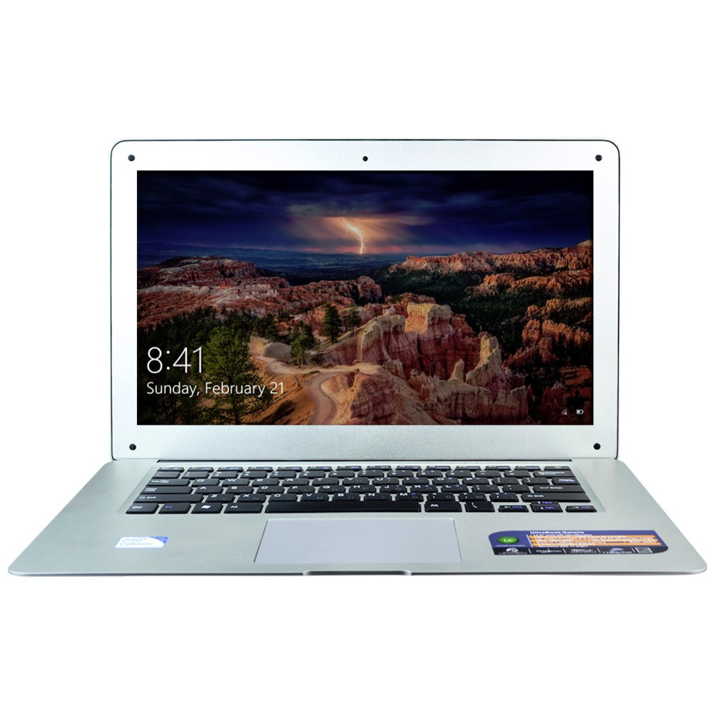 HZONE 14 Inch Laptop Computer with Celeron J1900 Quad Core 8GB RAM & 320GB HDD Windows 10 Pro Mini HDMI 1.30 Webcam(China (Mainland))