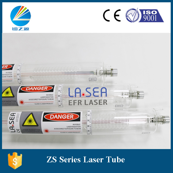 EFR 90W 1250mm new design sealed co2 glass laser tube for laser cutter(China (Mainland))