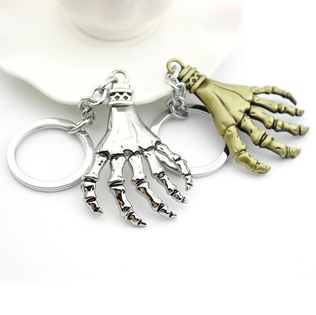 The Walking Dead Zombie Paw Bronze/Silver Gothic Keychain