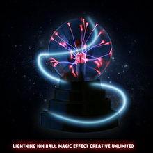 Plasma Ball Light Magic Crysta Ball Lamp Ion Sphere Lightning Carnival Atmosphere Lamps For KTV Purify Air Novelty Night Lights(China (Mainland))