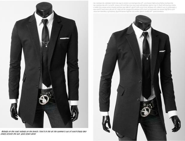 Best Quality Wholesale Mens Long Suit Jacket Autumn And Winter ...