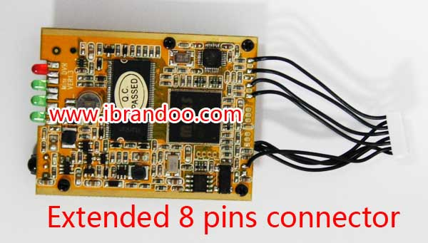 ODM offer customized SD DVR module, with 1 remote controller,support 64GB sd card recording