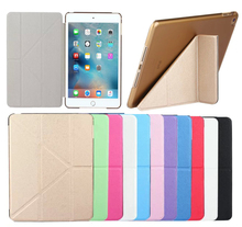 Luxury Cross Pattern Magnetic Flip Leather Case For iPad Mini 1 2 3 Smart Sleep Tablets Accessories Cover For iPad Mini 1 2 3(China (Mainland))