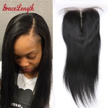 Unprocessed 8A Human Virgin Hair Silk Base Closure Peruvian Straight Hair closure 4 4 human hair