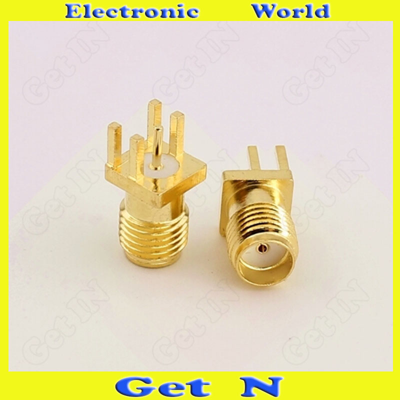 200pcs Manufacturer Direct Selling SMA-KE SMA-KHD 1.6mm Gilded Full-Copper Connector for Antenna High Frequency(China (Mainland))