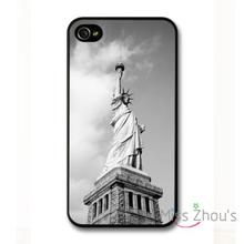 For iphone 4/4s 5/5s 5c SE 6/6s plus ipod touch 4/5/6 back skins mobile cellphone cases cover Statue of Liberty New York USA