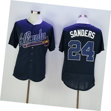 Mens #24 Deion Sanders Color White Blue Red Gray High Quality Stitched Throwback Jerseys SIZE M-3XL(China (Mainland))