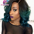 8A Brazilian Curly Glueless Full Lace Human Hair Wigs with Full Virgin Hair Lace Front U Part Wig for Black Women with Baby Hair
