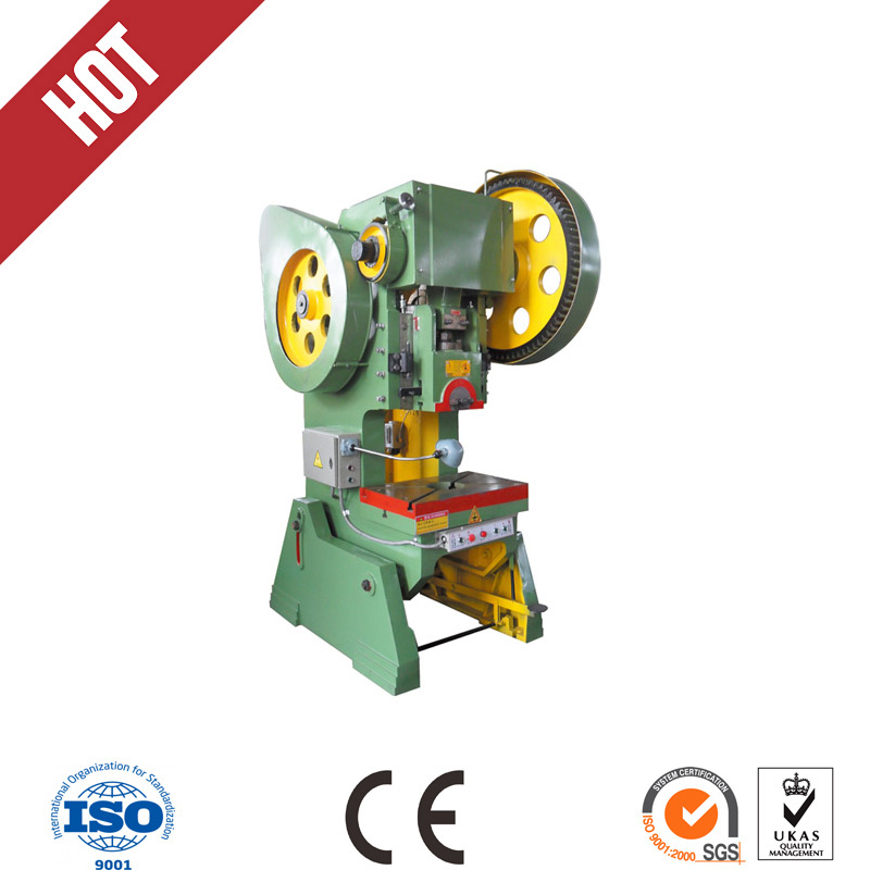 J23 series 40T tilting steel punching machine for cutting holes circles in material(China (Mainland))