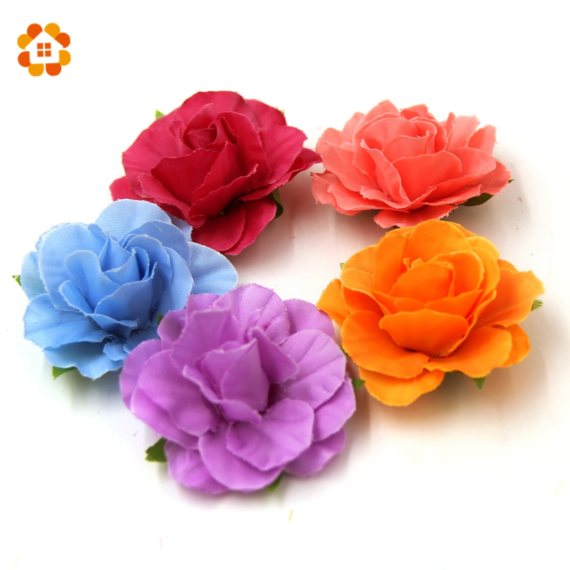 20pcs DIY Home Decorations For Wedding Wedding Car Decoration Spring Decoration Artificial Flower Artificial-Flowers-Cheap