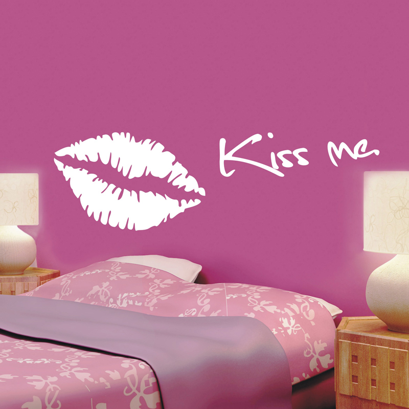 Kissing Quotes in Spanish Kiss me Quote Removeable