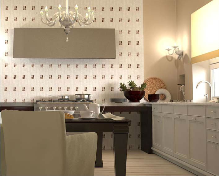 Porcelain backsplash tile