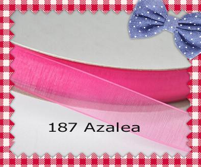 (200yards/roll) 2 Inch (50mm) Azalea/La Rosa/Coral Rose/Popy Red Sheer Ribbon(China (Mainland))
