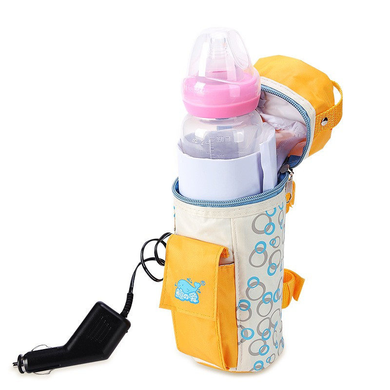Food Warmer 12V Car Heater Bottle Milk Bottle Wamer Bags Thermal Insulation Baby's Feeding Bottle Heater Travel Bottle Warmer(China (Mainland))