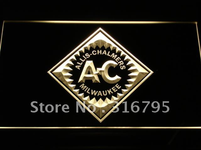 d172 ALLIS CHALMERS Tractor LED Neon Light Sign Wholesale Dropshipping On/ Off Switch 7 colors DHL(China (Mainland))