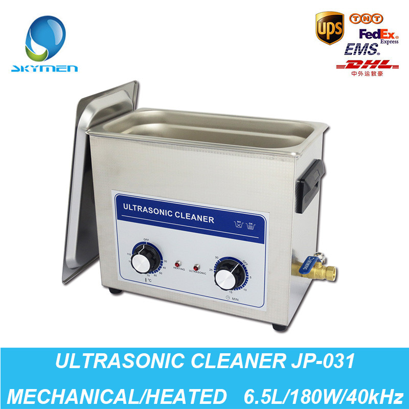 Ultrasound Injector Cleaning Transducer Machine Washer Washer 180W 40kHz 6.5L Industrial Ultrasonic Generator Cleaner Bath(China (Mainland))