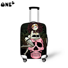 ONE2 Design Fashion travel luggage cover travel bag cover beautiful pictures for suitcase boys good quality(China (Mainland))