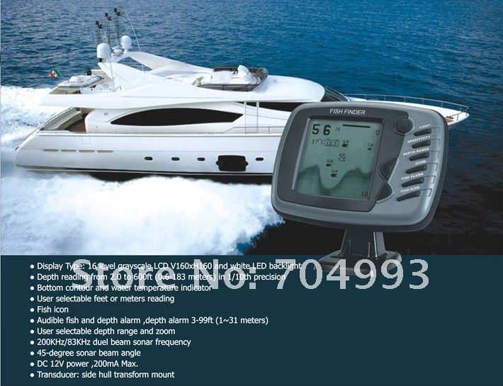 Buy big screen 16 levels grayscale boat for Utah fish finder