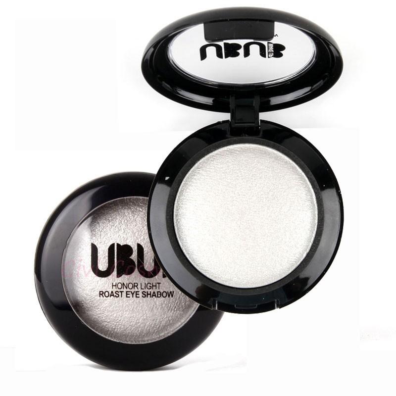 אחת אפוי צללית אבקה איפור לוח ב שימר מטאלי מנצנץ קרם Eyeshadow Palette ידי UBUB