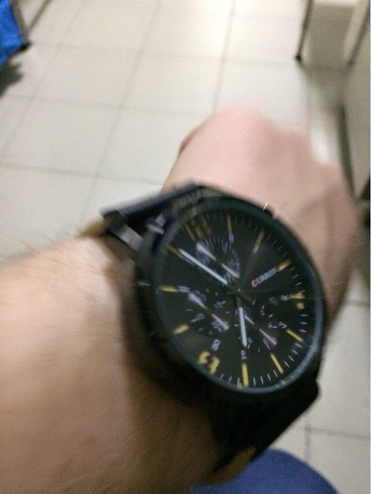 Часы хорошо выглядят, сделаны аккуратно, на руке хорошо смотрятся. Правда ремешок не очень качественный, но выглядит очень хорошо. Хронометры муляж