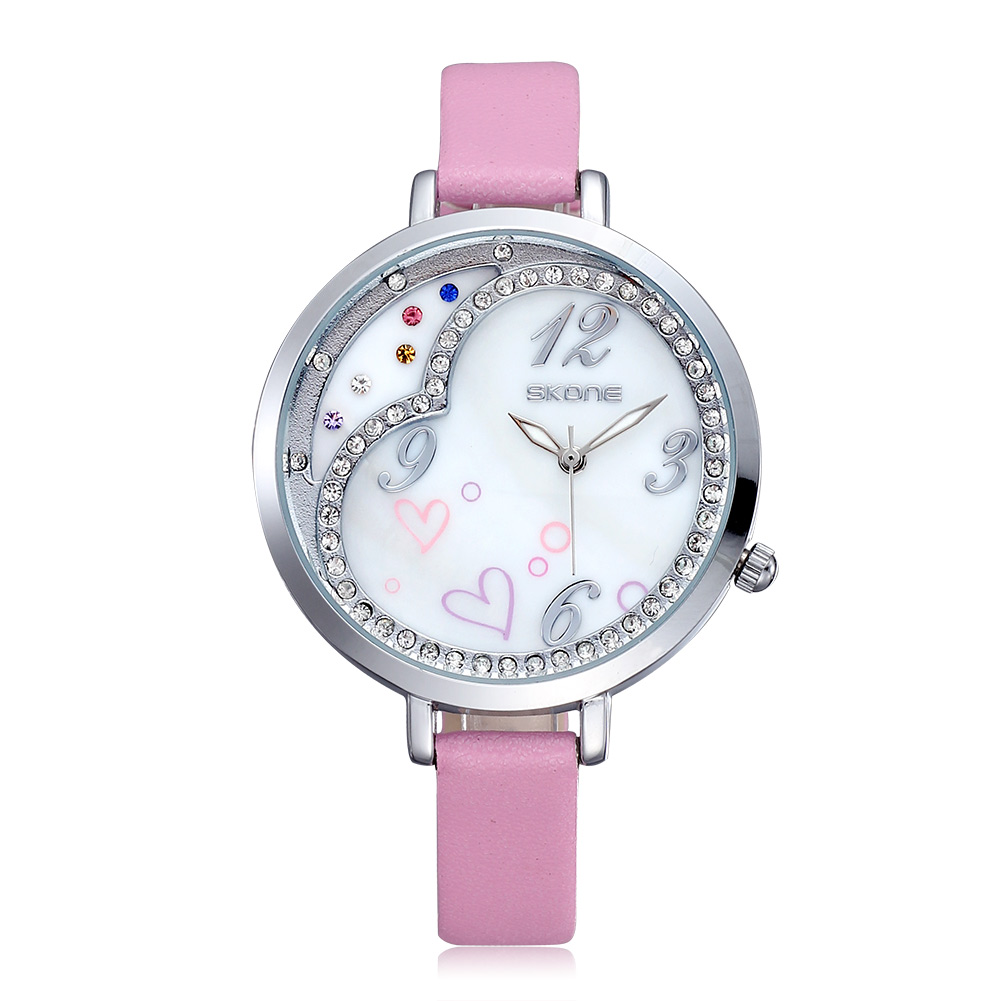 Skone brand new ladies quartz watch women rhinestone wristwatch fashion casual watch dress watch<br><br>Aliexpress