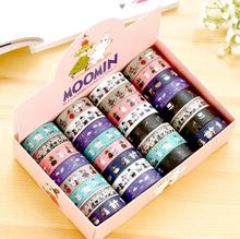 1.5cm Wide Novelty Moomin Washi Tape Adhesive Tape DIY Scrapbooking Sticker Label Masking Tape H1464