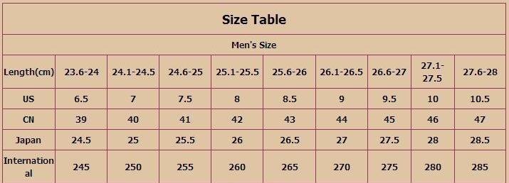 size 39 to us - Siteze