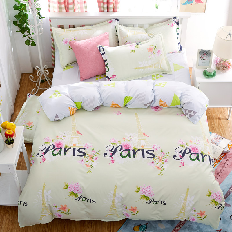 hot sale full queen size quality guaranteed home textile cotton bedding set duvet cover bed. Black Bedroom Furniture Sets. Home Design Ideas