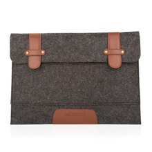 Mosiso Rub Resistance 11 12 13 15 Felt Laptop Cover Case Notebook Sleeve Bag Pouch for Apple Macbook Pro Air Shoulder Strap Bag