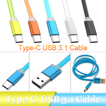 "Buy 1M/3FT USB-C 3.1 Type C USB 2.0 Male Data Sync Charger Cable Nokia N1 Macbook 12"" OnePlus 2 Nexus 5X/6P Xiaomi 4C for $1.79 in AliExpress store"
