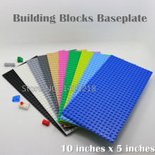 2 pcs/lot Building Bricks Base Plate10x5inch 32x16 small dots DIY Baseplate for Minifigures Compatible With Legosize blocks(China (Mainland))