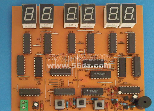 6 digital clock production suite digital clock training kit digital electronic technology learning package recommended DIY(China (Mainland))