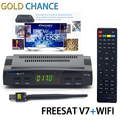 Original Freesat V7 Terrestrial  Satellite Receiver HD DVB-T2 DVB-T/T2 TV Digital Terrestrial Receptor Full 1080P HD set top box