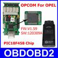 Strong And Durable OPCOM V1 59 OP COM OBD2 Diagnostic Tool For SAAB OP COM OPEL