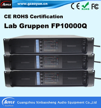 Hot Selling lab gruppen FP 10000Q 4 channel DJ amplifiers,audio amplifier, stereo karaoke amplifier(China (Mainland))