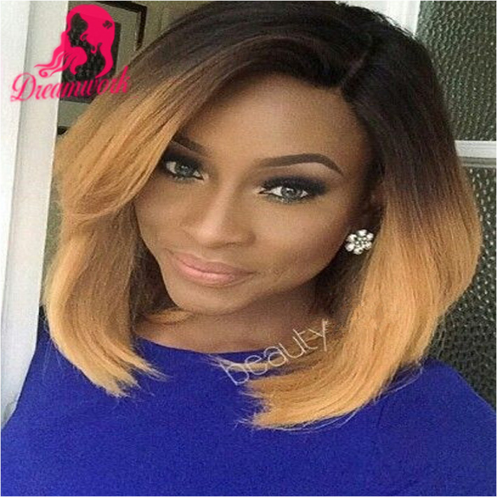 Blonde Lace Front Wigs Human Hair Bob Wigs Virgin malaysian Blonde #613 Glueless full Lace Wig with baby hair bleached knots<br><br>Aliexpress